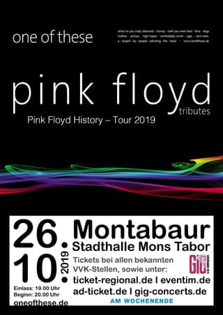 One of these Pink Floyd Tributes Westerwald Montabaur